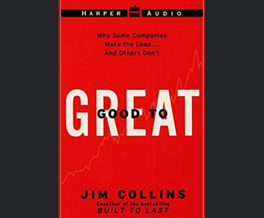 5. Good to great (Jim Collins)